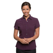 City Stretch Spot ladies Shirt · Cap Sleeve