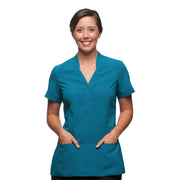 City Collection City Stretch Spot Tunic - Womens