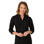 City Collection So Ezy Ladies Shirt ¾ Sleeve - Womens