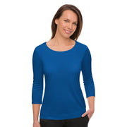 City Collection Smart Knit Top  ¾ Sleeve - Womens