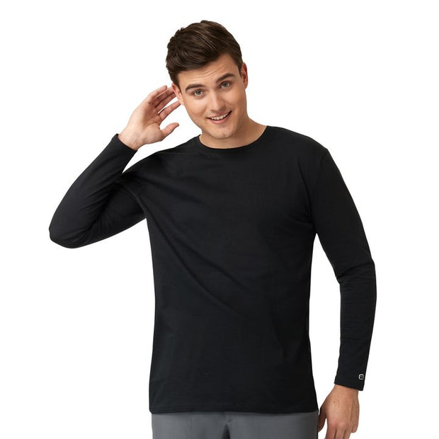Crew Neck Long Sleeve Tee - Mens