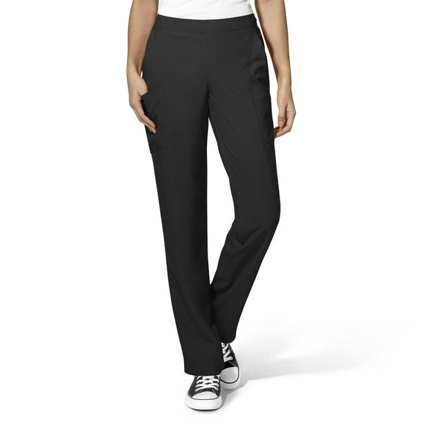 W123 Flat Front Double Cargo Pant - Womens