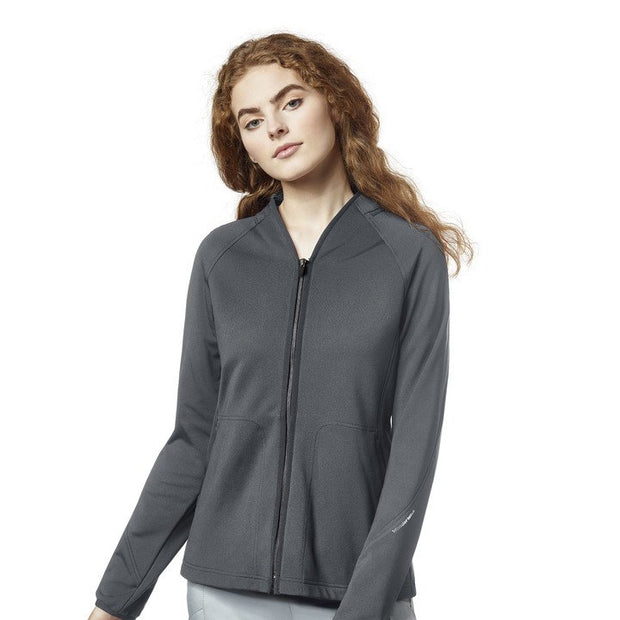 Wonderwink  Full Zip Scrub Jacket - Womens