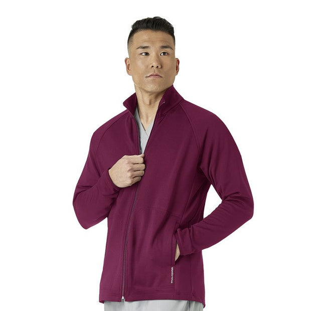 Wonderwink Fleece Full Zip Jacket - Men's