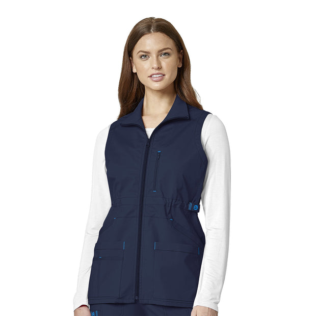 WonderFlex Women's Utility Zip Fashion Vest
