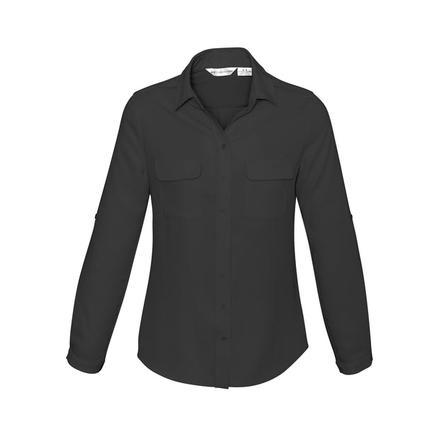 Biz Collection Madison Blouse Long Sleeve - Womens