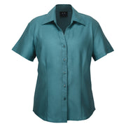 Biz Collection Plain Oasis Shirt Short Sleeve - Womens