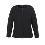 Biz Collection 2 Way Zip Cardigan - Womens