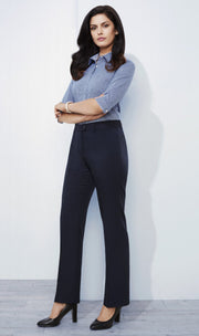 Biz Corporates Relaxed Fit Pant - Women