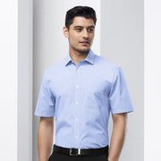 Biz Collection Euro Shirt Short Sleeve - Mens