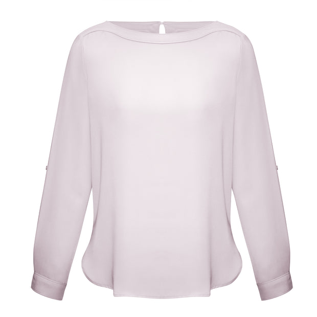 Madison Boatneck Ladies Shirt · Long Sleeve