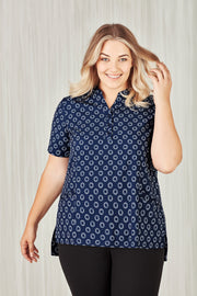 BIZCARE - Womens Easy Stretch Daisy Print Tunic