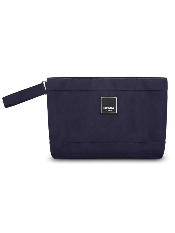 Cora Clutch • Sanded Navy Blue