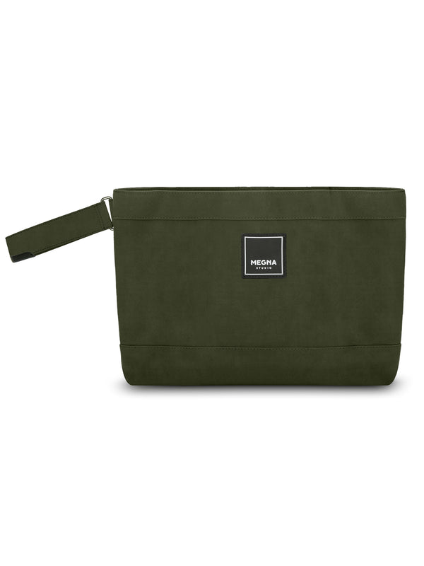 New Cora Clutch • Olive Green