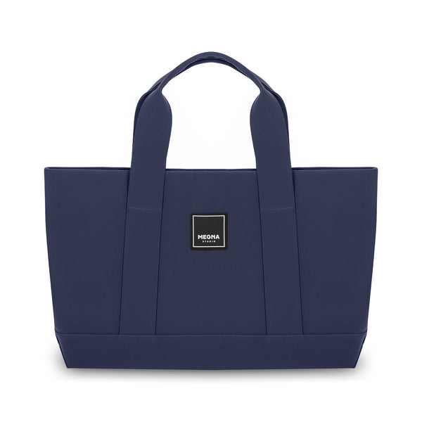 Cora Shoulder Bag • Matte Mineral Blue