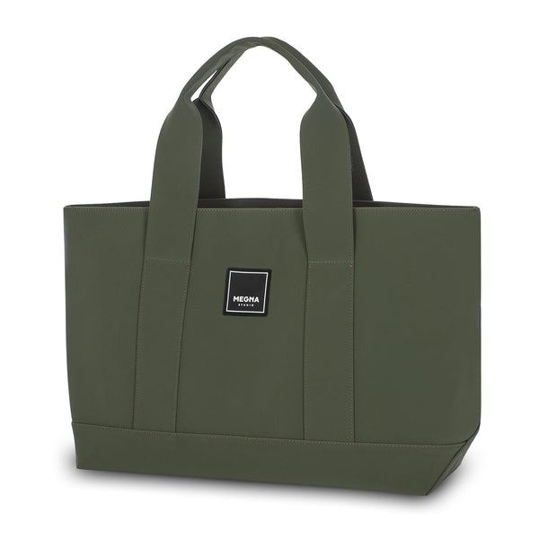 Cora Shoulder Bag • Matte Petrol Green