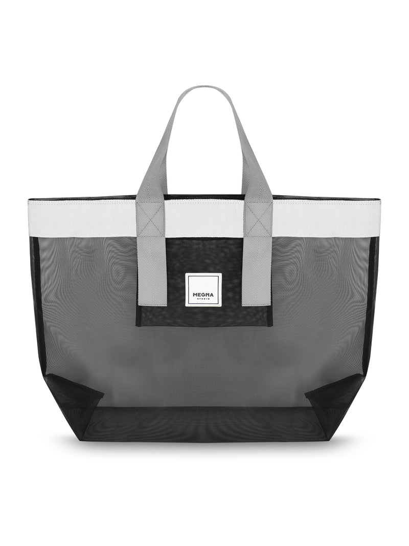 Grace Beach Bag • Horizontal • BLACK