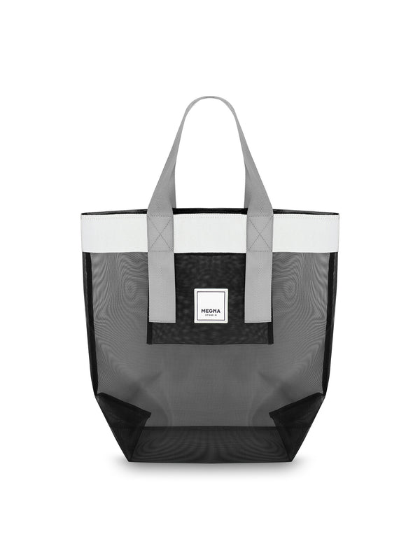 Grace Beach Bag • Vertical • BLACK