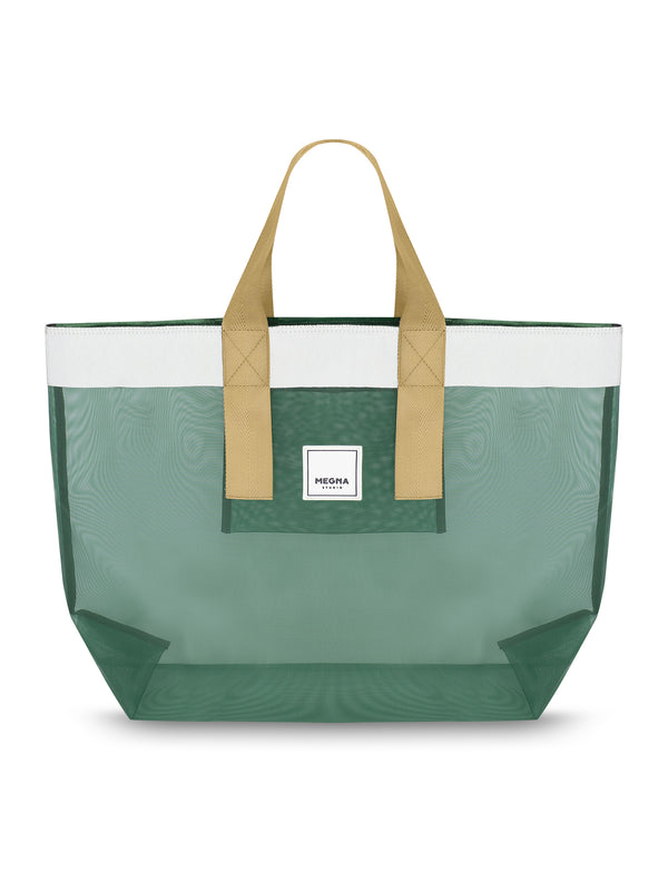 Grace Beach Bag • Horizontal • FOREST GREEN