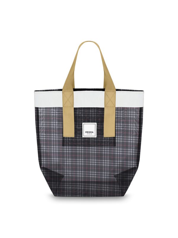 Grace Beach Bag • Vertical • PLAID