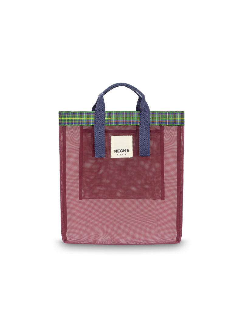 Irena Shopper Tote • Cardinal Red