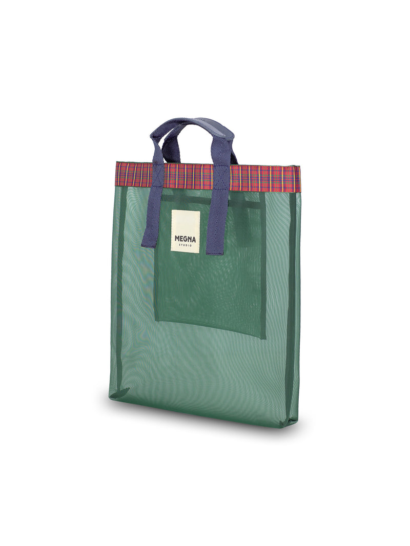 Irena Shopper Tote • Forest Green