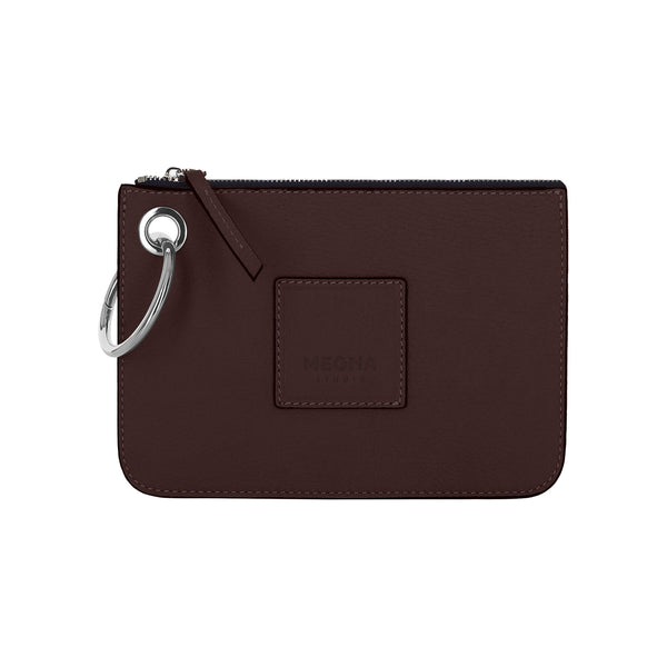 Nina Money Pouch • Chocolate Brown