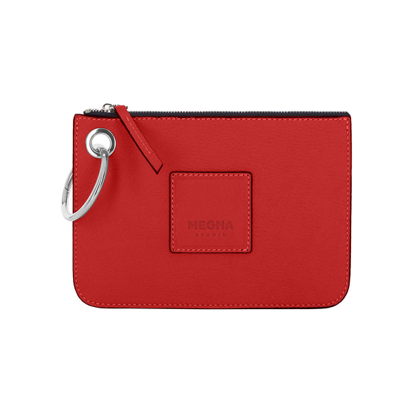 Nina Money Pouch • Candy Red