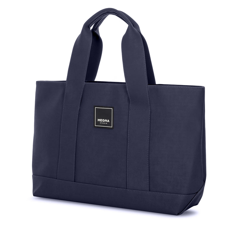 Cora Shoulder Bag • Sanded Navy Blue