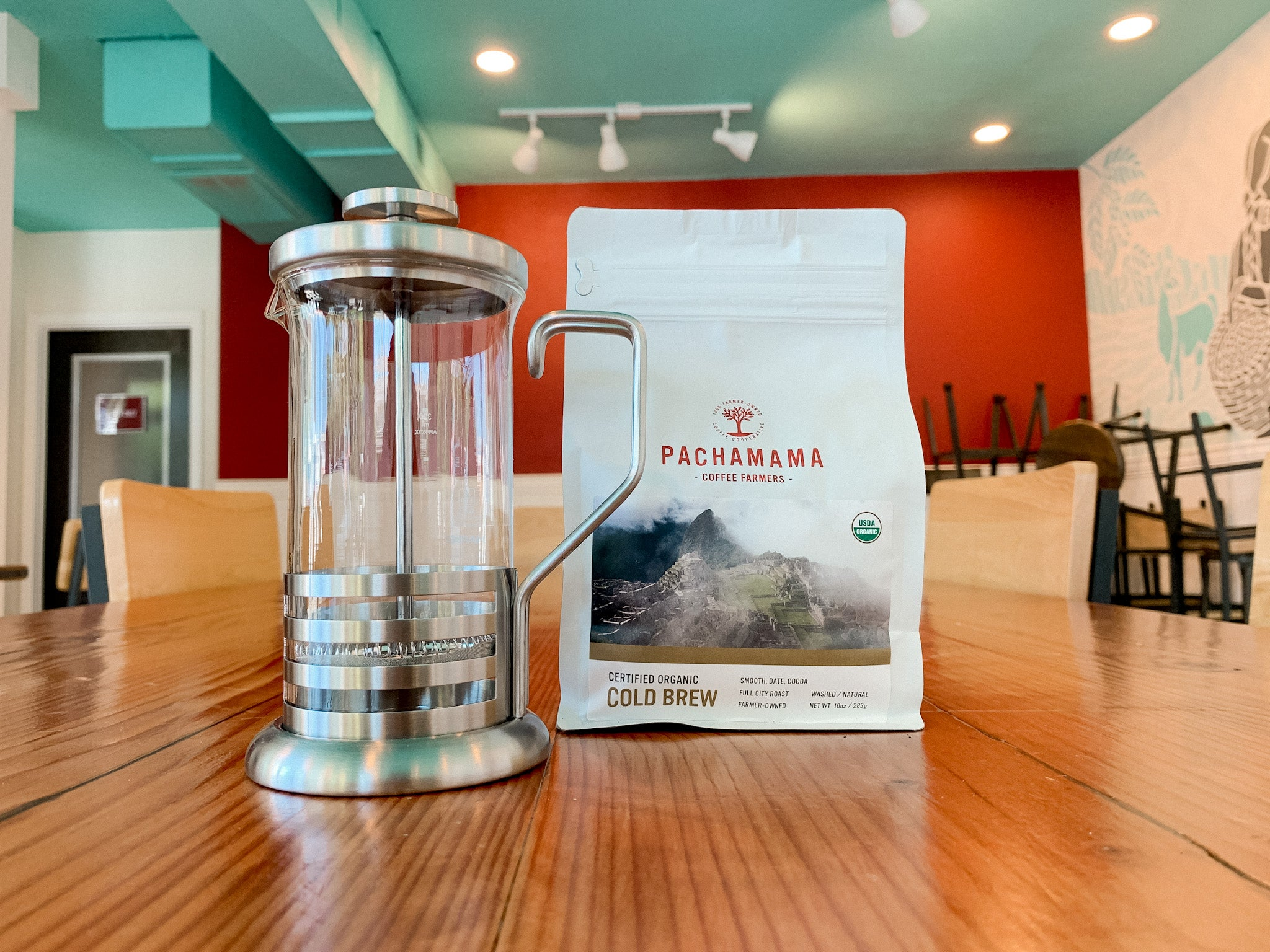 French Press and Cold Brew Blend Coffee Beans