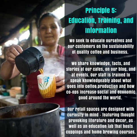 Principle 5: Education, Training, and Information