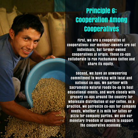 Principle 6: Cooperation among Cooperatives