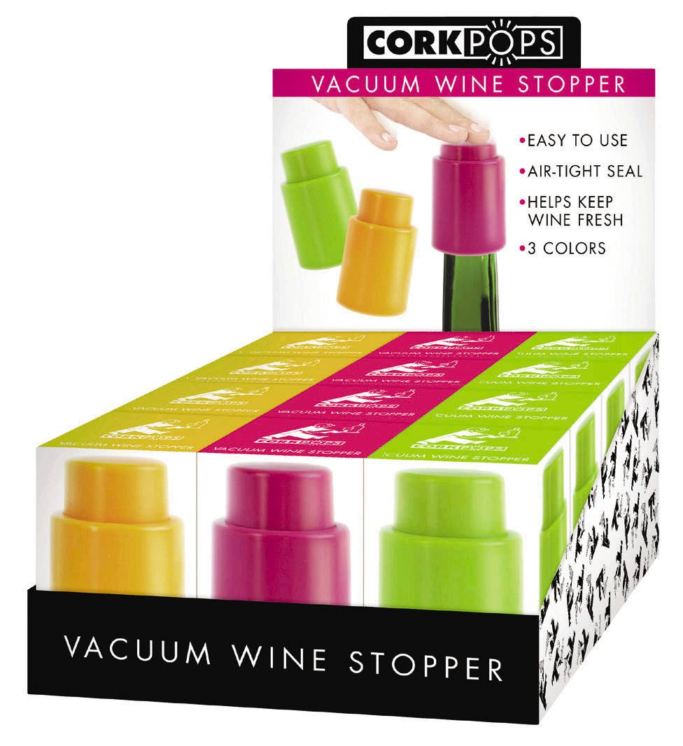 Cork Pops Inc - Vacuum Wine Stoppers