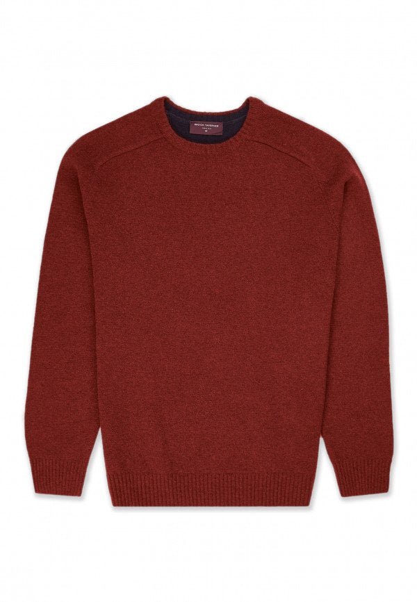 Crewneck Lambswool Sweater