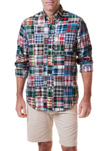 Load image into Gallery viewer, Patch Madras Shirt