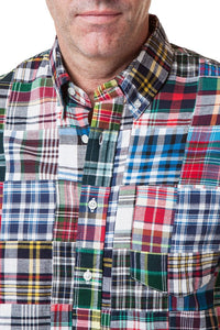 Patch Madras Shirt