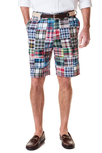 Patch Madras Shorts