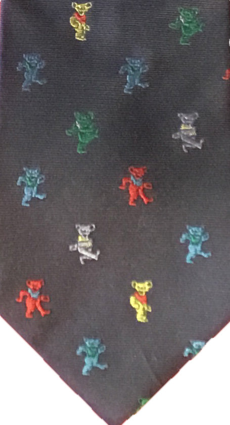 Party Bears Silk Woven Tie