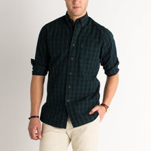 Load image into Gallery viewer, Overdyed Washed Plaid Buttondown
