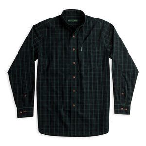 Overdyed Washed Plaid Buttondown