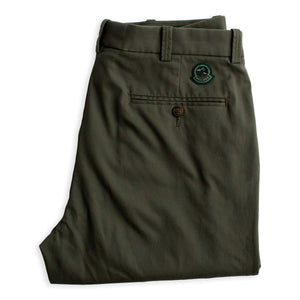 Duck Head Green Badge Chino - Thyme Olive