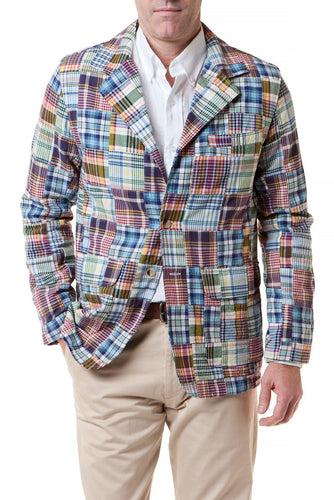 Spinnaker Jacket-Patch Madras