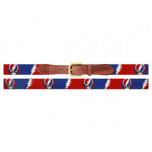 Needlepoint Grateful Dead Belts