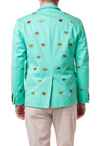 """Go to Hell"" Spinnaker Party Jacket"