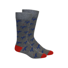 Load image into Gallery viewer, Brown Dog Socks- AKA Ankle Sweaters