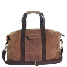 Load image into Gallery viewer, Waxed Cotton Weekender Bag