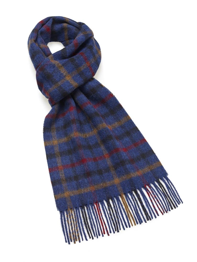 Newby Scarf - 100% Merino Lambswool - Made in England