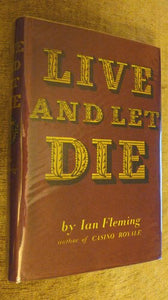 Ian Fleming Live and Let Die