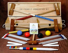 Load image into Gallery viewer, Croquet Association 4 Player Set