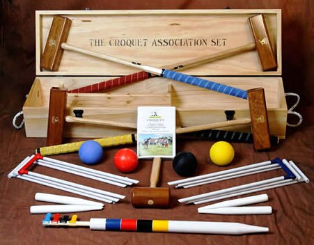 Croquet Association 4 Player Set